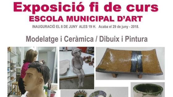 L'alumnat de l'Escola Municipal d'Art de Callosa d'En Sarrià exposaran els seus treballs a partir del 8 de juny