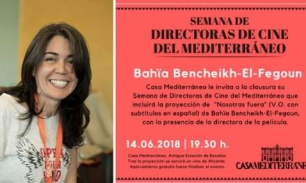 La directora de cine argelina Bahia Bencheikh El Fegoun clausura el ciclo de mujeres cineastas de Casa Mediterráneo