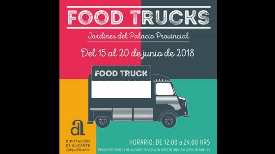 Els Food Trucks en la Diputació amb molt sabor alacantí des del divendres 15 de juny