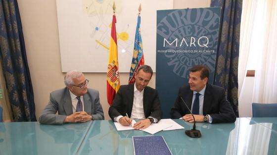 """Convenio Diputación Alicante – La Caixa para la Exposición """"Rupestre. Los primeros santuarios"""""""