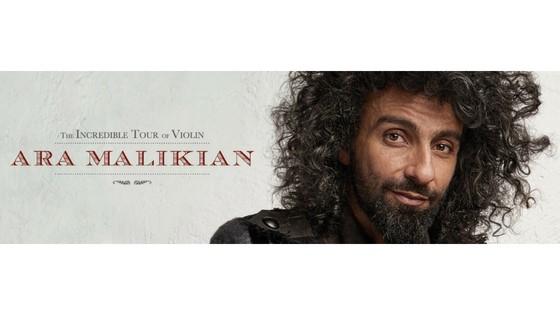 La Rotonda d'Elx rep al violinista Ara Malikian