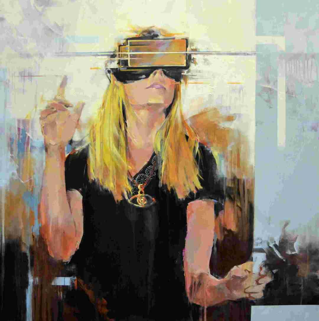 'Mirada virtual' del artista José Enrique Gómez Perlado