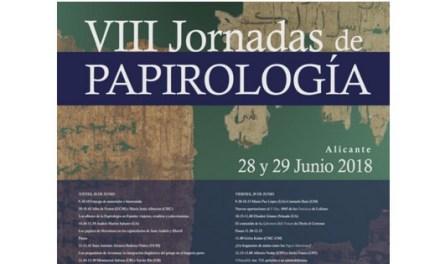 Expertos en papiros griegos, latinos y cristianos recorren en la Universidad de Alicante literatura, novela, filosofía, magia o alquimia en las VIII Jornadas de Papirología