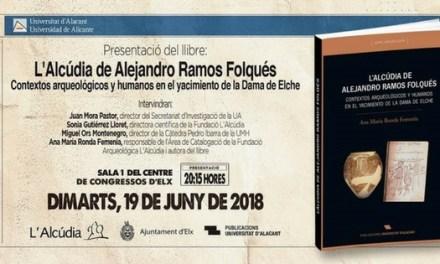 """El libro """"L'Alcúdia de Alejandro Ramos Folqués"""" se presentó en el Centro de Congresos de Elche"""