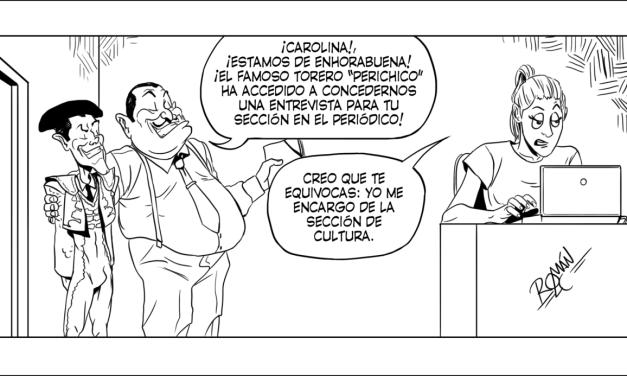 ROMÁN LÓPEZ-CABRERA VIÑETA #12 LOBLANC