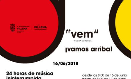 VEM 2018: 24 horas de Música en Villena