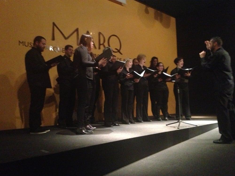 Conciert Coro Contrapunctum al MARQ. Foto: Juanjo Cervetto