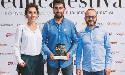 """La campaña """"Silencio Incómodo"""" del Ajuntament d'Elx obtiene el Buho de bronce en los Premios EducaFestival"""
