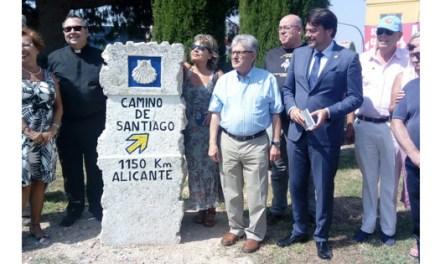 El Ayuntamiento de Alicante acuerda mejoras en la señalización del Camino de Santiago que parte desde la Basílica de Santa María