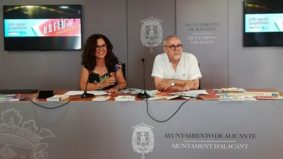 """El Ayuntamiento de Alicante ofrece más de un centenar de actividades dentro del programa """"Estiu Cultural"""""""