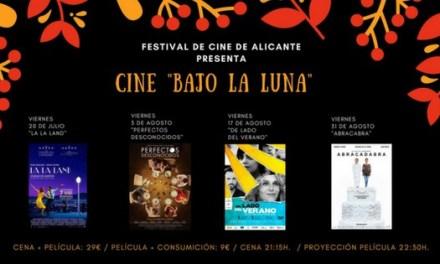 El Festival de Cine de Alicante promueve el ciclo «Cine Bajo la Luna»
