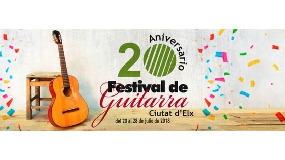 "El Festival de Guitarra ""Ciutat d'Elx"" celebra su 20 aniversario"