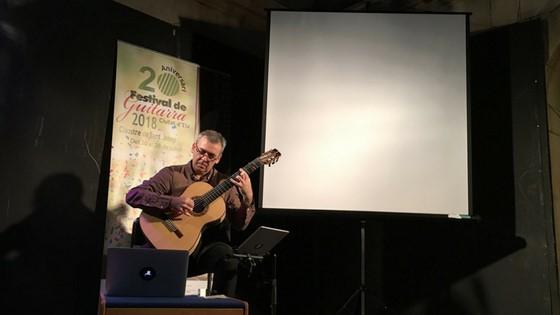 El uruguayo Baranzano sorprendente con un concierto de gran calidad en el segundo día de Festival Ciutat d'Elx