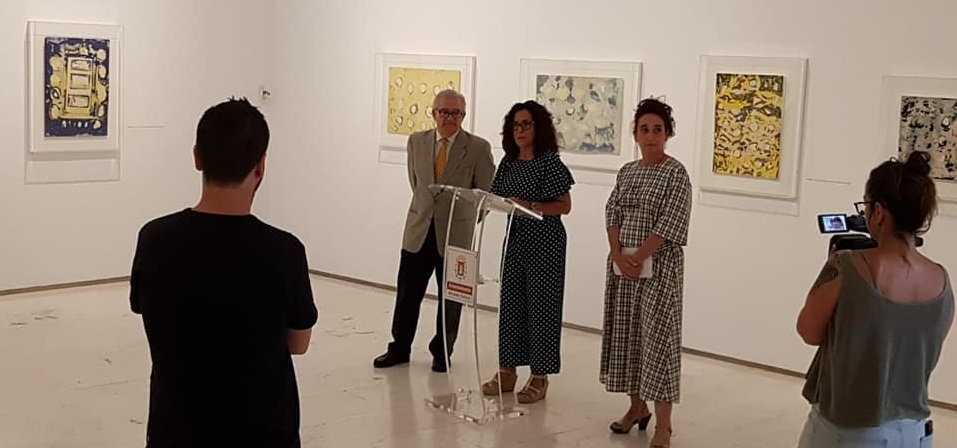 Presentación Exposición Juana Francés. Foto: Gabinete Prensa. Ayto. Alicante