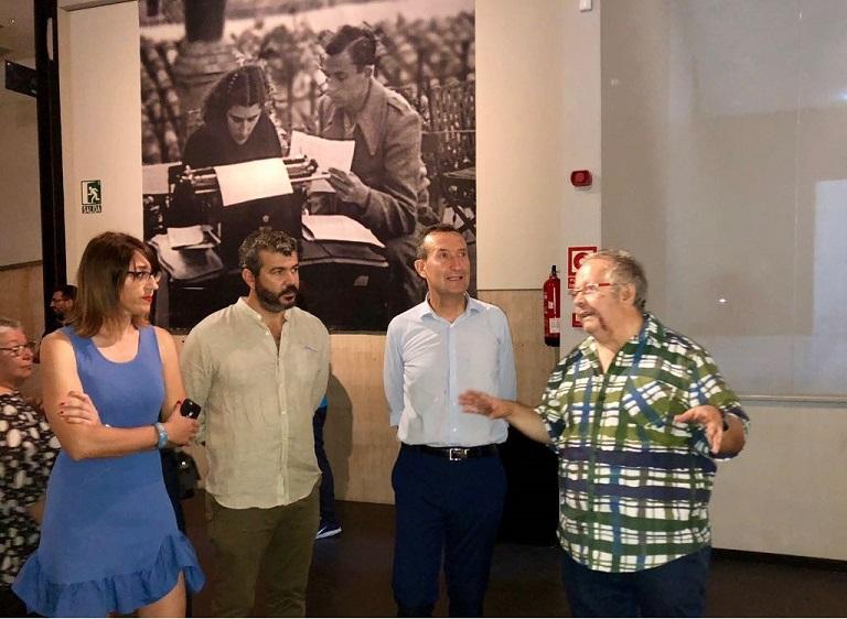 "Exposició ""Miguel Hernández a plena luz"". Foto: Gabinet Premsa. Aj. Elx"