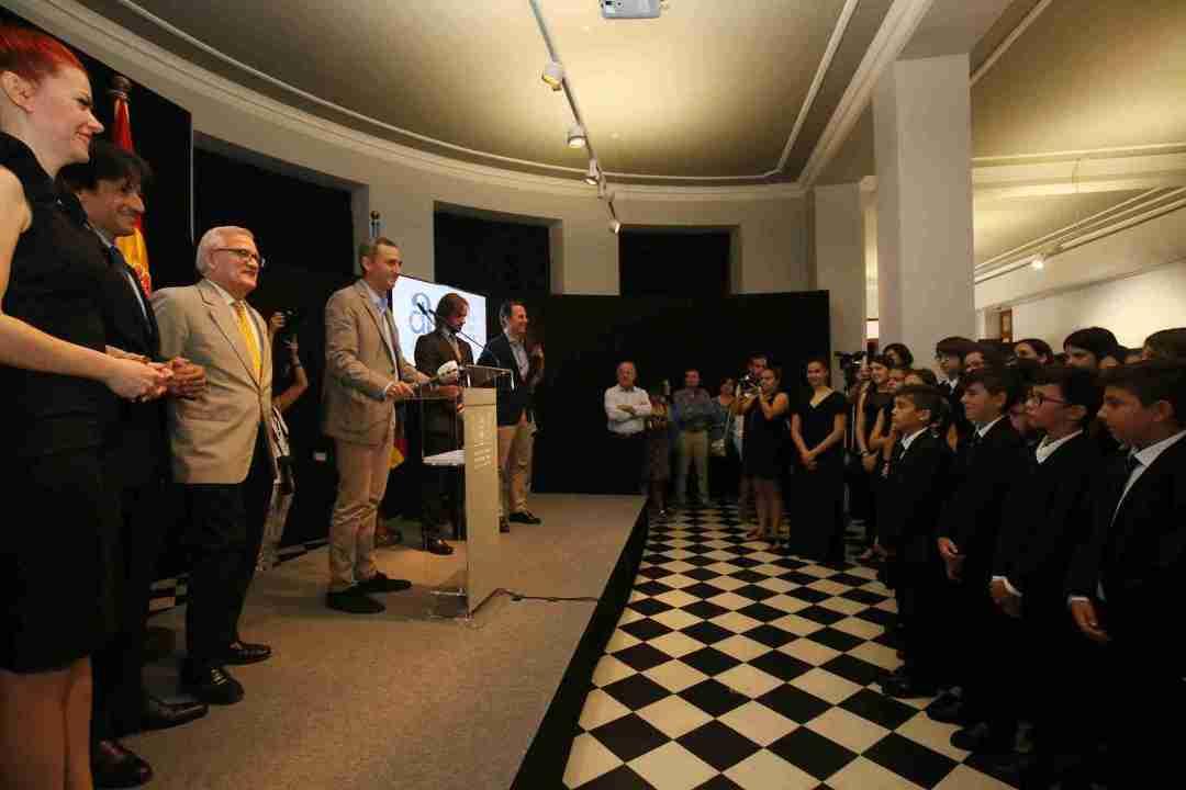 Recepció Diputació Alacant a OJPA. Foto: Gabinet Premsa Diputació Alacant