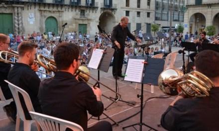 Concert inaugural del VII Summer Brass Festival Alacant amb aforament complet de públic