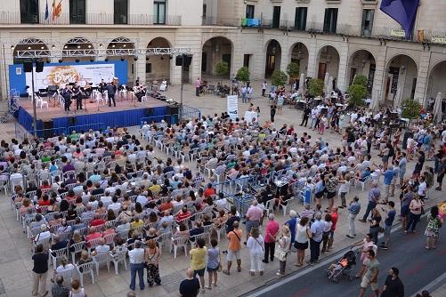 Concierto inaugural Summer Brass Festival Alicante. Foto: Gabinete Prensa. Ayto. Alicante