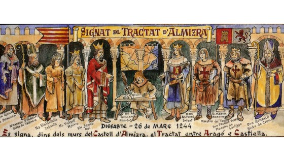 Congreso que conmemora  el 775 aniversario del Tratado de Almizra