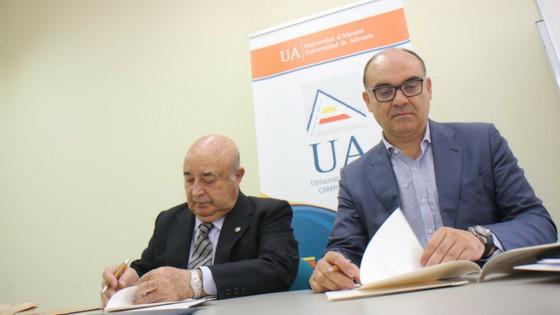 La Fundación Mutua Levante se convierte en mecenas del Campus de la Universidad de Alicante en Alcoy
