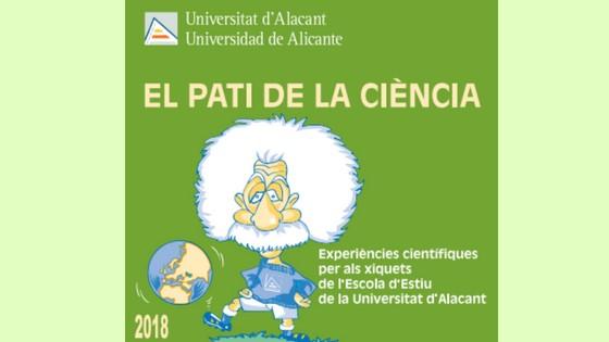 """Experiments científics per als més menuts al """"Pati de la Ciència"""" de la UA"""