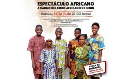 El coro infantil africano BeningBé en concierto este sábado en l'Alfàs