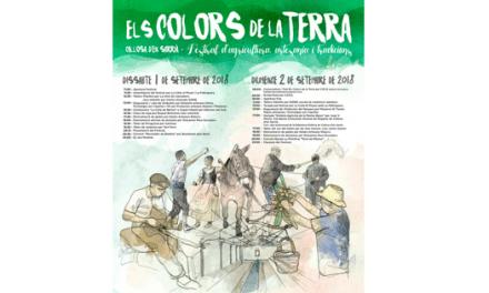 Callosa d'en Sarrià celebra el próximo 1 y 2 de septiembre su festival de agricultura, artesanía y tradiciones 'Els Colors de la Terra