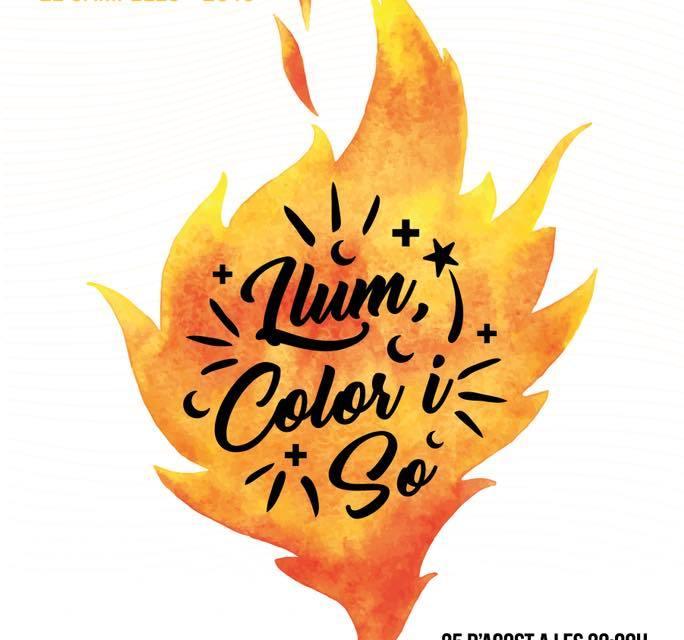 Pollosos y Cavallers del Temple llenan de Llum, Color i So la Presentación de Capitanías de 2018