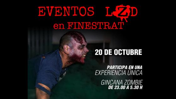 La Regidoria de Joventut de Finestrat organitza una terrorífica gimcana zombi per a la nit del 20 d'octubre com a avantsala d'Halloween