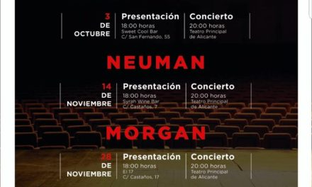 """El cicle de concerts """"Momentos Alhambra a l'Escenari"""" de Cerveses Alhambra torna al Teatre Principal d'Alacant"""