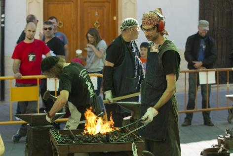 La Trobada de Forjadors a Castalla es converteix en esdeveniment Internacional en la seua segona edició