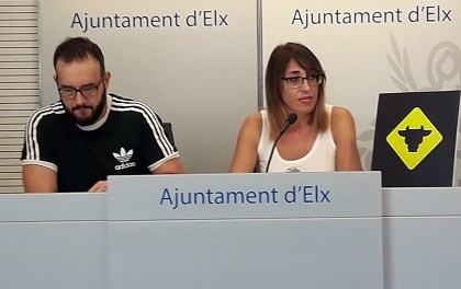 Esteban y Manuel, Putochinomaricón, Anibal Gómez y Maga en  el X Aniversario de L'Escorxador