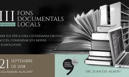 El director de l'Arxiu Històric Nacional inaugura en l'Institut Juan Gil-Albert una jornada sobre digitalització de Fons