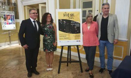 El Banc Sabadell patrocina, amb la col·laboració de l'Ajuntament d'Alacant, «The Tenor Gal·la» a benefici del Fons de Beques Soledad Cazorla Prieto