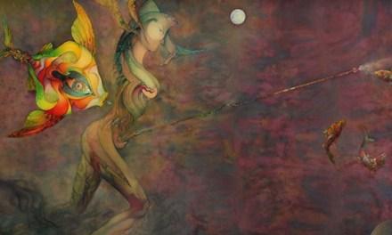 """El MUA inaugura l'exposició antològica """"Els mons i els éssers imaginaris de Daniel Escolano"""""""