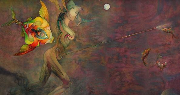 El MUA inaugura la exposición antológica «Los mundos y seres imaginarios de Daniel Escolano»