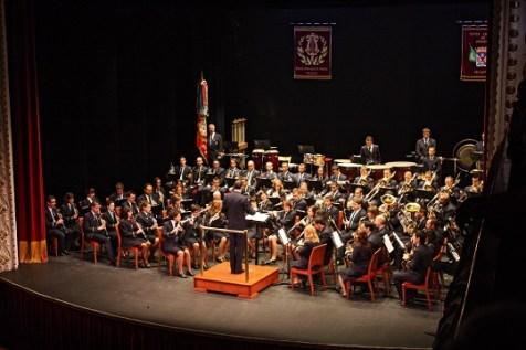Banda Municipal de Villena. Foto: Teatro Chapí