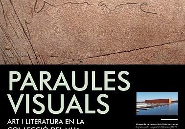El MUA fon l'art i la literatura en la seua nova exposició «Paraules visuals»