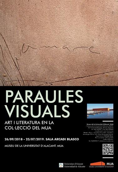 """El MUA funde el arte y la literatura en su nueva exposición """"Palabras visuales"""""""