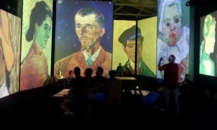 Más de 3.700 visitantes en el primer fin de semana de 'Van Gogh Alive' en Alicante