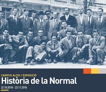 El Campus d'Alcoi de la Universitat d'Alacant exposa «Història de la Normal»: evolución i trascendència històrica de la formació de mestres