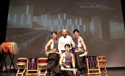 A ritme del Taiko japonés es presenta la nova temporada escènica del Auditori Teulada Moraira