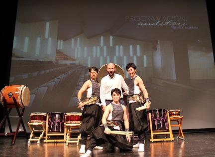 A ritmo del Taiko japonés se presenta la nueva temporada escénica del Auditori Teulada Moraira
