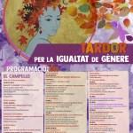 """Actividades de la """"Tardor Per La Igualtat de Gènere"""" en El Campello"""