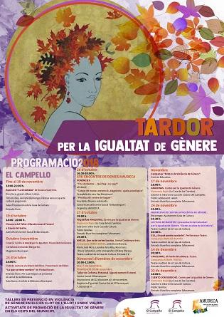 """Activitats de la """"Tardor Per La Igualtat de Gènere"""" a El Campello"""