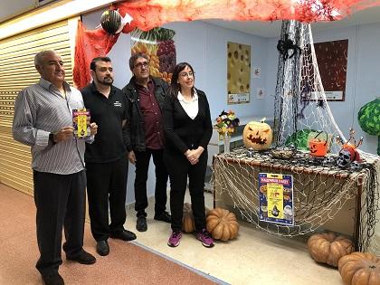 L'Ajuntament d'Elda presenta la 'Halloween Party' que se celebrarà en el Mercat Central