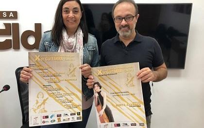 El Ayuntamiento de Elda presenta las X Jornadas Internacionales de Guitarra de la ciudad