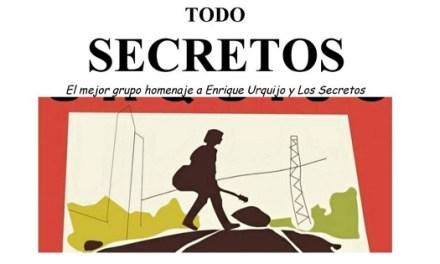 """""""Todo Secretos"""", concierto homenaje a Enrique Urquijo y Los Secretos"""