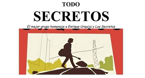 """Todo Secretos"", concert homenatge a Enrique Urquijo i Los Secretos"