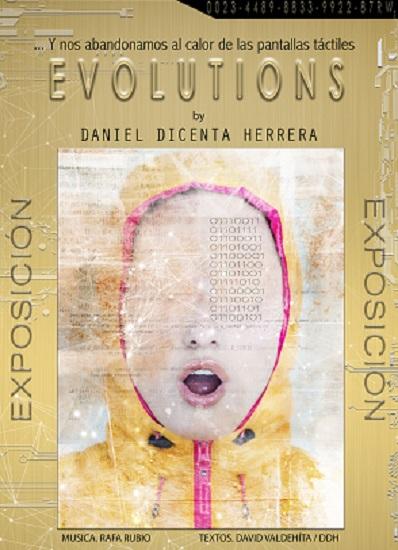 """Dani Dicenta Herrera inaugura la seua exposició """"Evolutions"""" en el Auditori de la Mediterrània de La Nucia"""